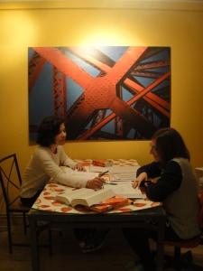 Un piso de Erasmus con una italiana y una mejicana.