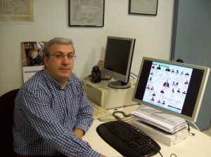 Gonzalo de Domingo, infografista de El Periódico de Aragón.